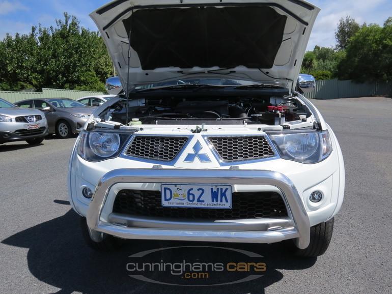 2014 Mitsubishi Triton Warrior GLXR 4wd Dual Cab Turbo Diesel Ute in Launceston, TAS