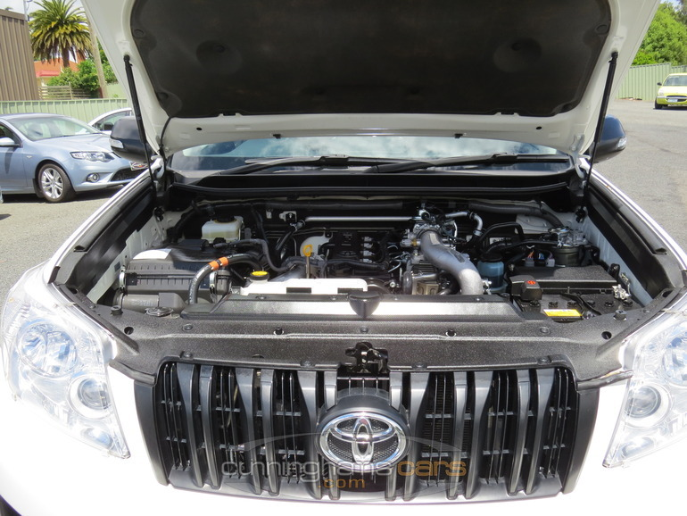 2011 toyota prado gx turbo diesel wagon in launceston  tas