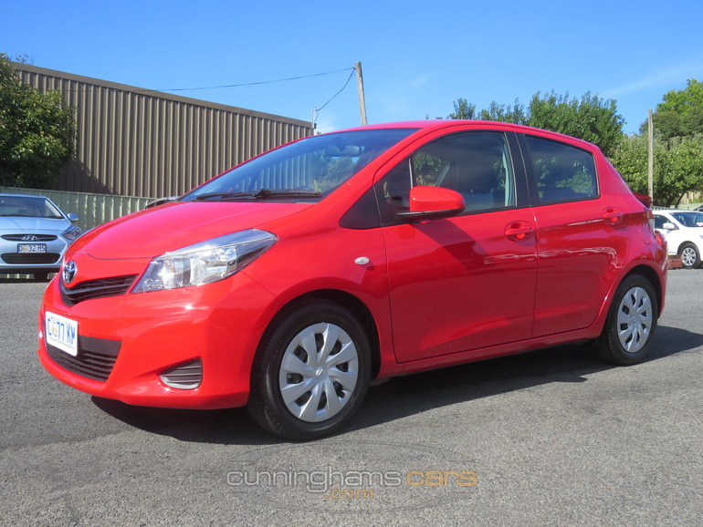 2011 Toyota Yaris Yrs Hatch In Launceston Tas
