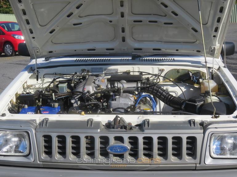 двигатель ford courier