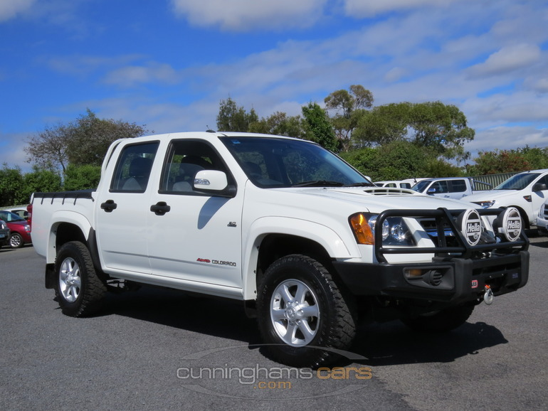 2011 Holden Colorado Rc 4x4 Lxr Dual Cab Turbo Diesel Ute