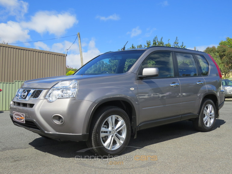 2012 nissan x trail st 4wd wagon in launceston tas. Black Bedroom Furniture Sets. Home Design Ideas