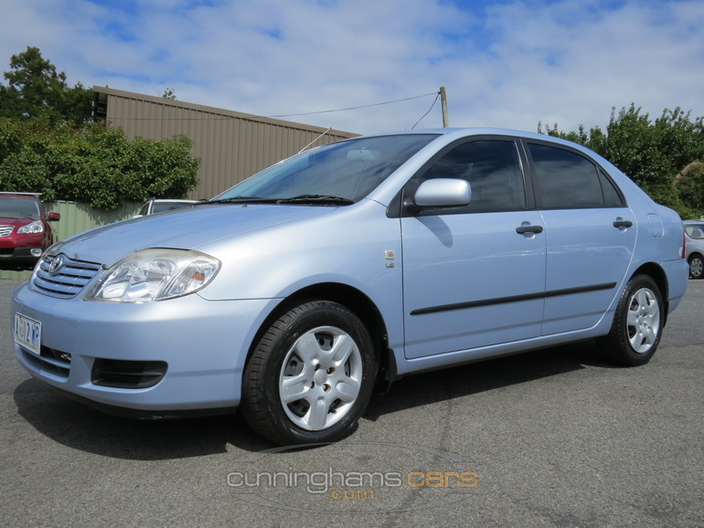 2006 toyota corolla ascent sedan in launceston tas. Black Bedroom Furniture Sets. Home Design Ideas