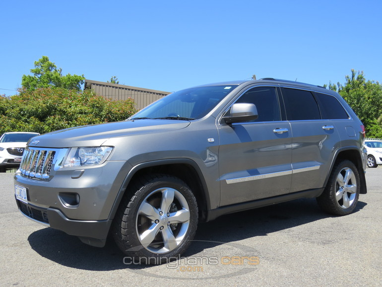 2012 jeep grand cherokee overland wagon for sale in launceston tas. Cars Review. Best American Auto & Cars Review