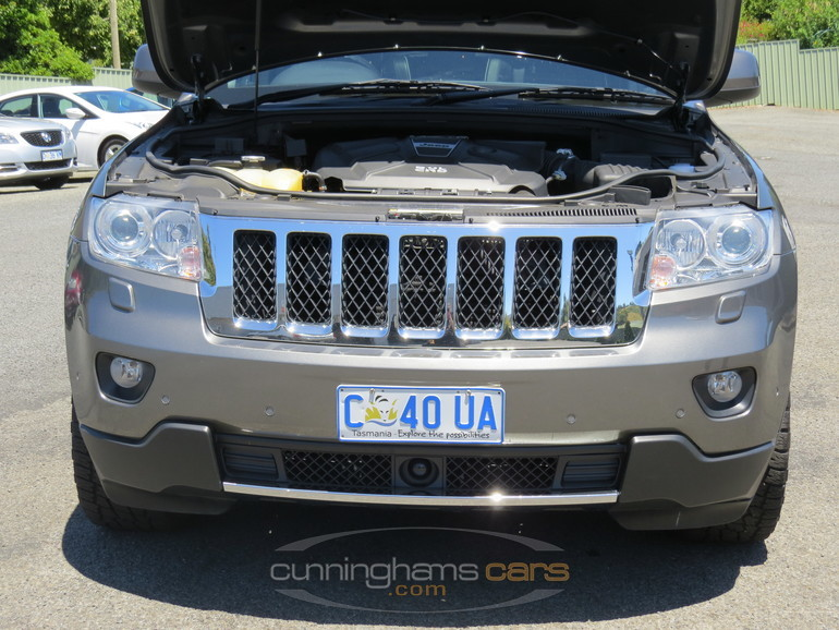 2012 jeep grand cherokee overland wagon for sale in launceston tas. Black Bedroom Furniture Sets. Home Design Ideas